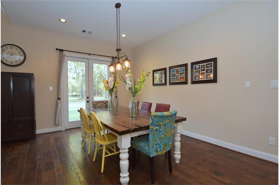 106-1274: Home Interior Photograph-Dining Room