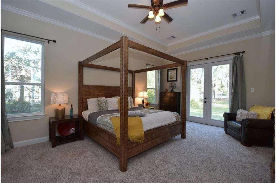 106-1274: Home Interior Photograph-Master Bedroom