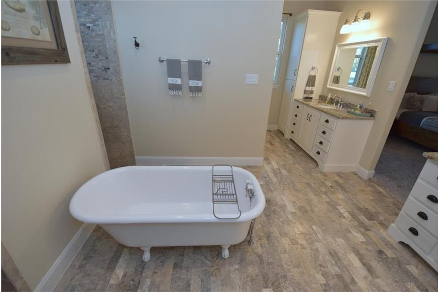 106-1274: Home Interior Photograph-Master Bathroom