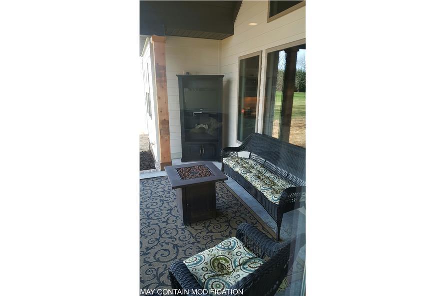 106-1275: Home Exterior Photograph-Porch