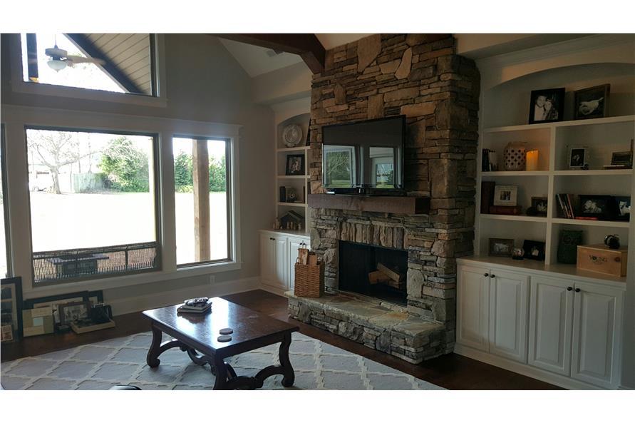 106-1275: Home Interior Photograph-Hearth Room