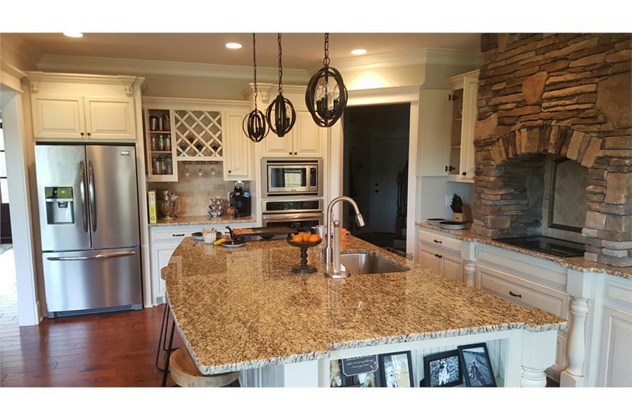 106-1275: Home Interior Photograph-Kitchen
