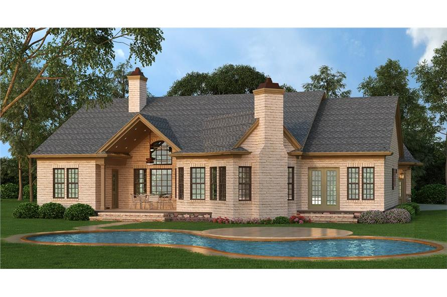 106-1281: Home Plan Rendering