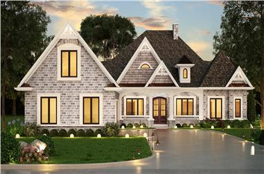 3-Bedroom, 2474 Sq Ft Ranch House - Plan #106-1321 - Front Exterior