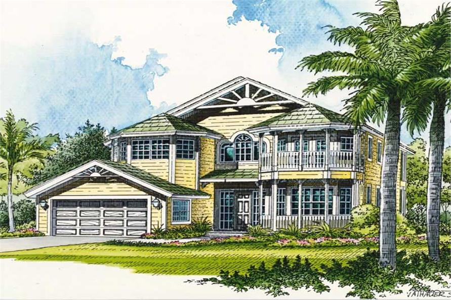 Main image for house plan # 18924