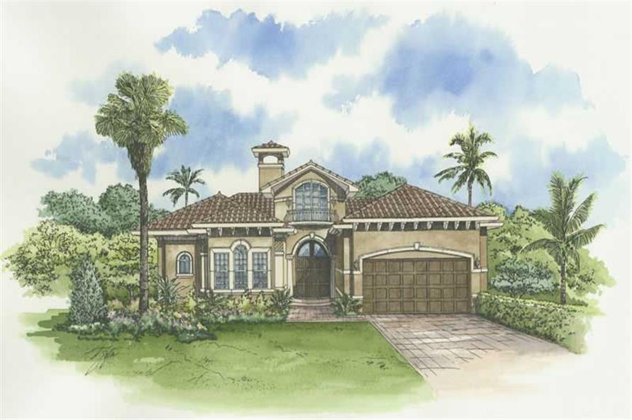 Main image for house plan # 18965