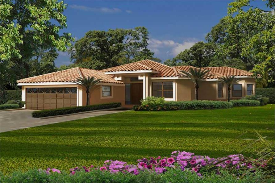 Main image for house plan # 20512