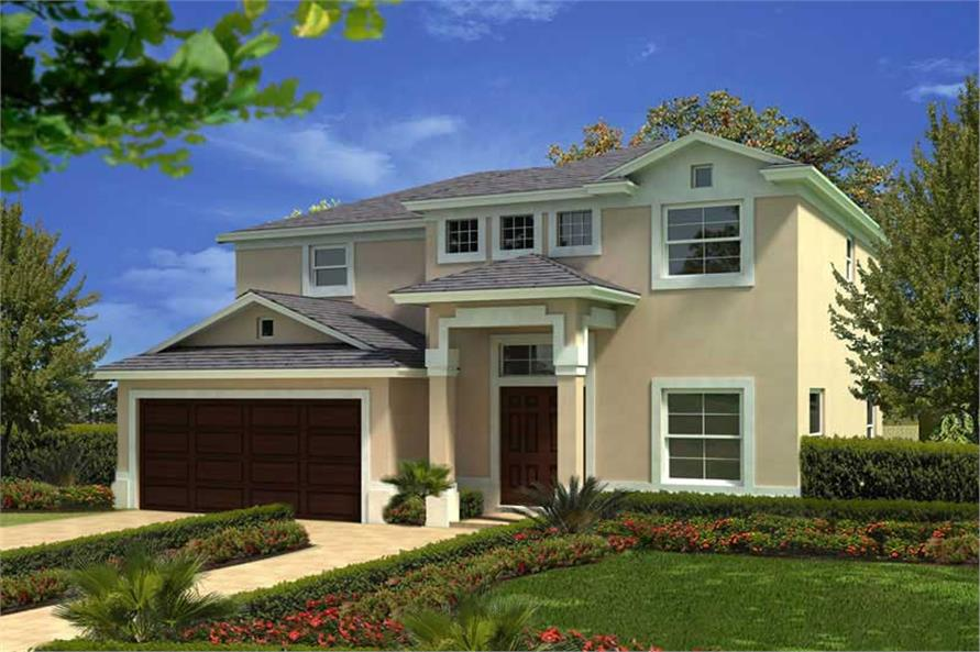Main image for house plan # 20485