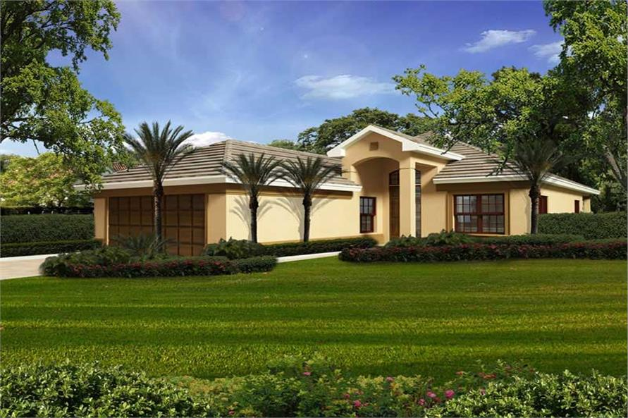Main image for house plan # 20506