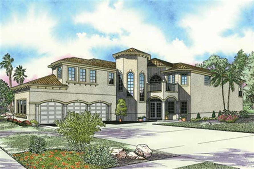Main image for house plan # 17794