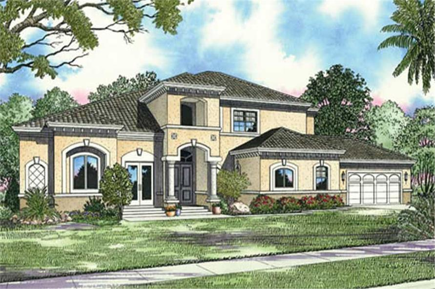 Main image for house plan # 17795