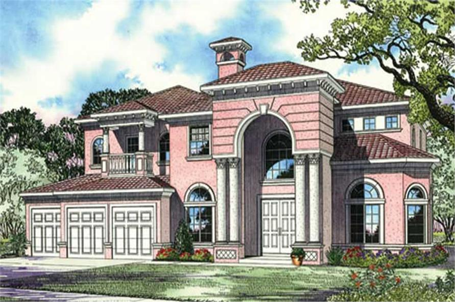 Main image for house plan # 17796