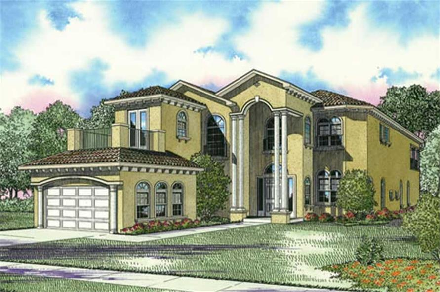 Main image for house plan # 17797