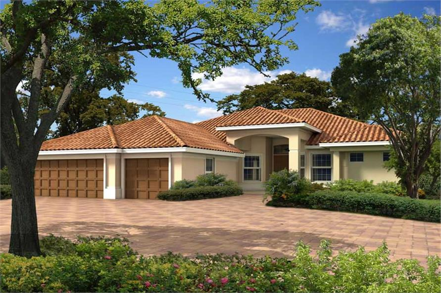 Main image for house plan # 18053