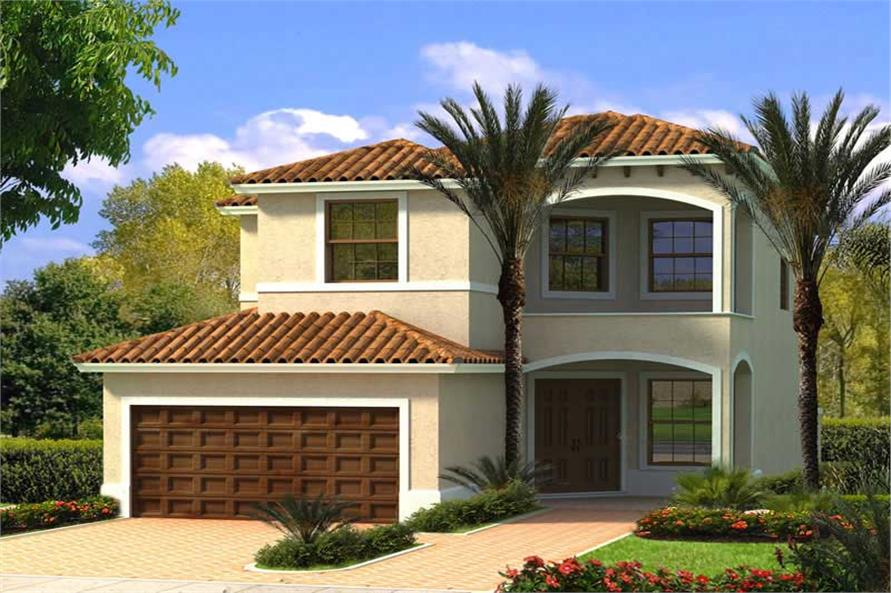 Main image for house plan # 18059
