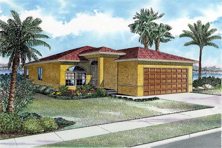 Main image for house plan # 18039
