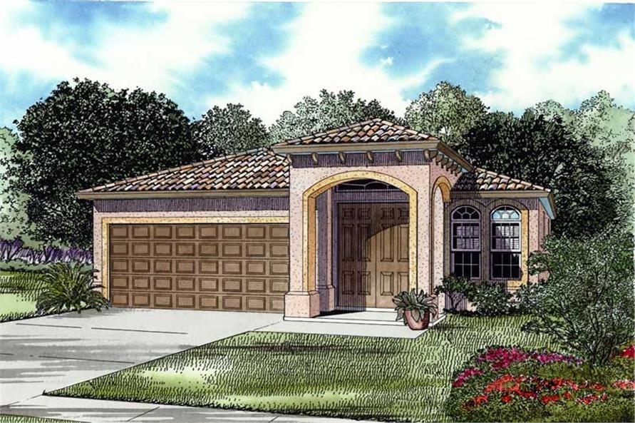 Main image for house plan # 17504