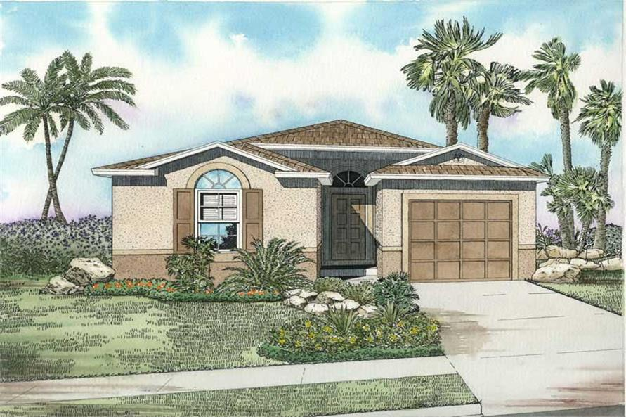 Main image for house plan # 18042