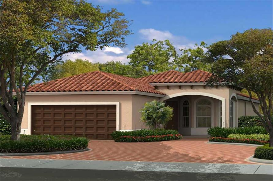 Main image for house plan # 18044
