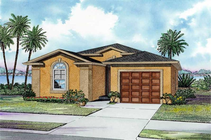 Main image for house plan # 17491