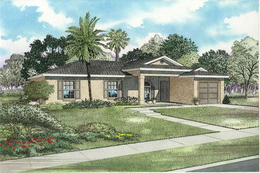 Main image for house plan # 17493