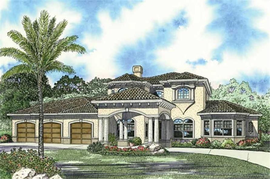 Main image for house plan # 17791