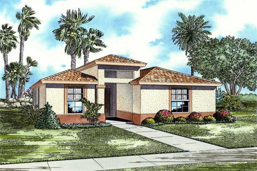 Main image for house plan # 17503