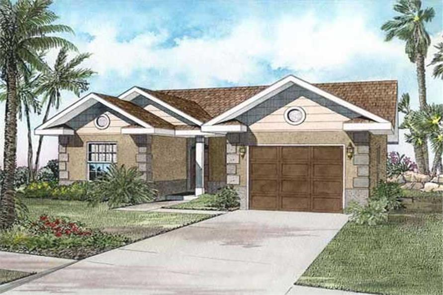 Main image for house plan # 17560