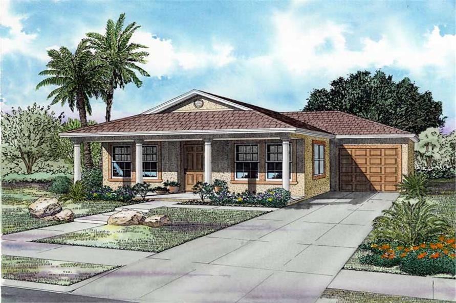 Main image for house plan # 17486