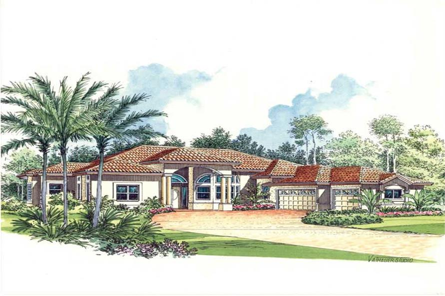 Main image for house plan # 17543