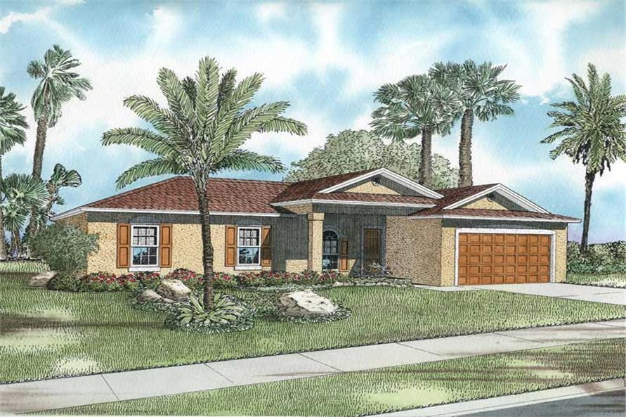 Main image for house plan # 17497