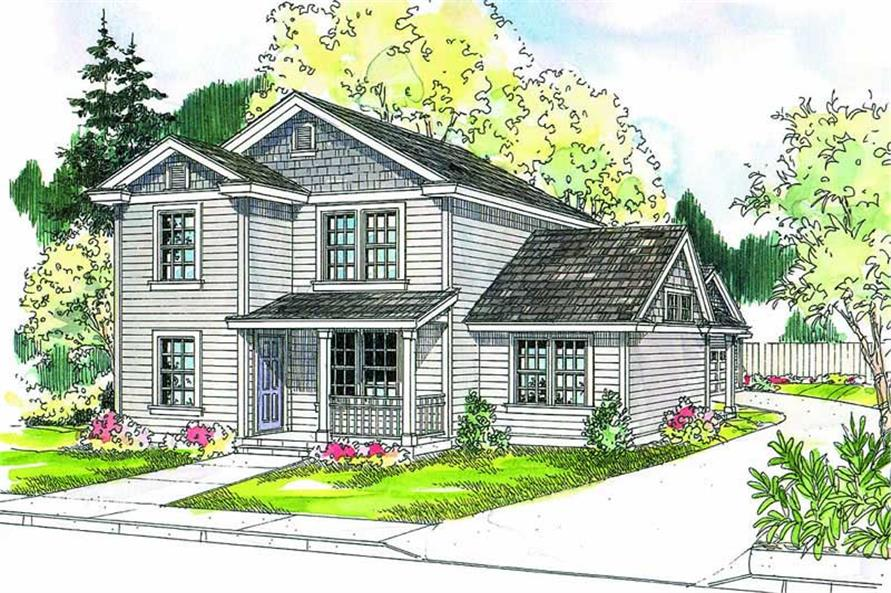 Main image for house plan # 21121