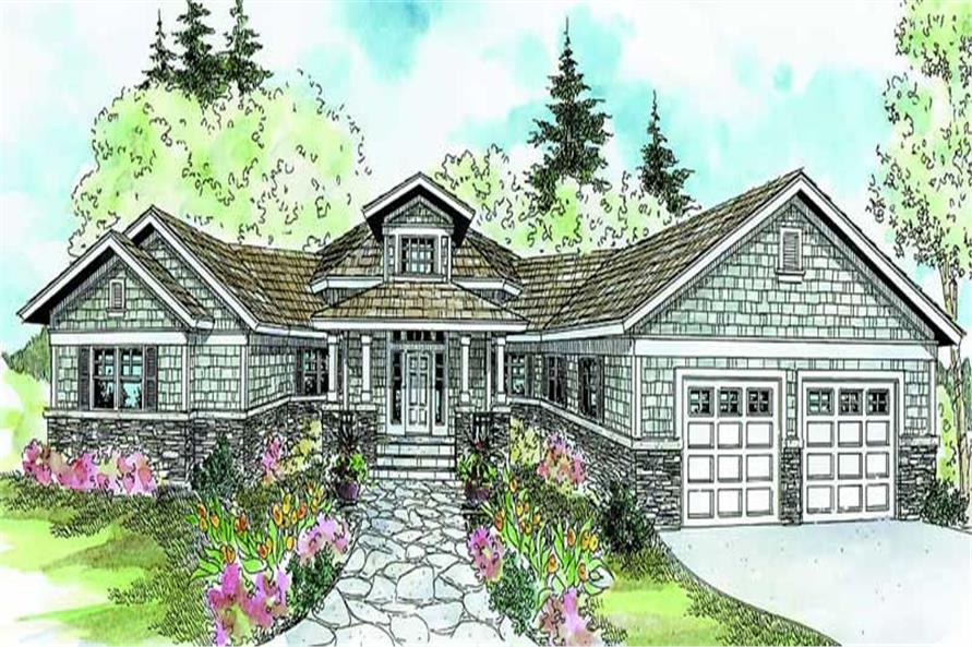 Main image for house plan # 21093