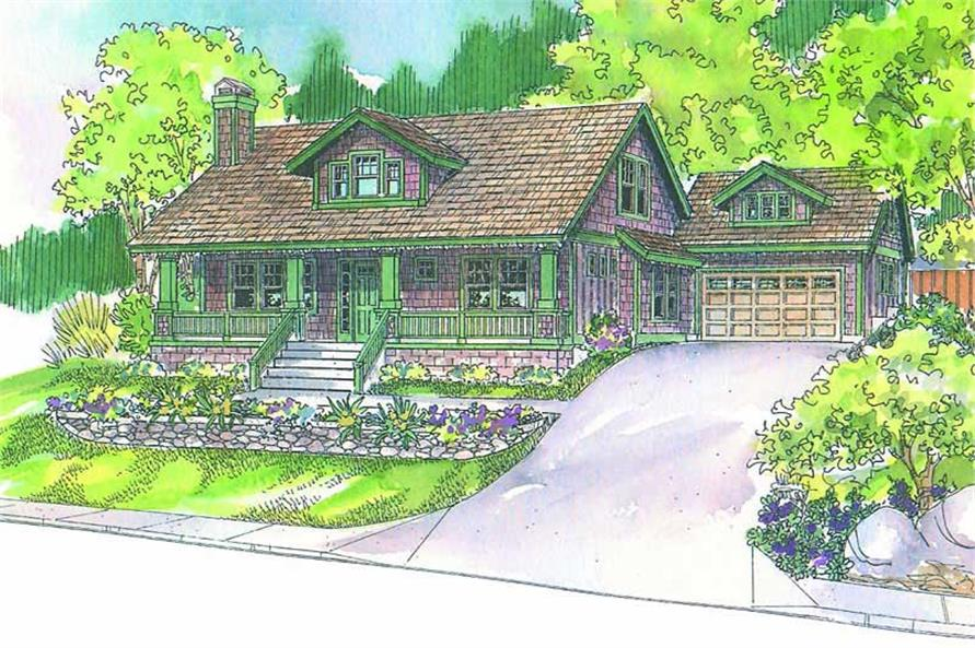 Main image for house plan # 21226