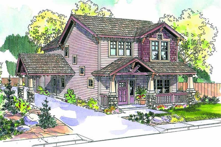 Main image for house plan # 21130
