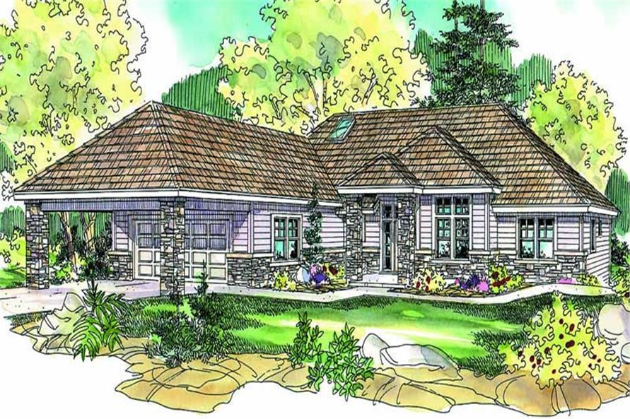 Main image for house plan # 21112