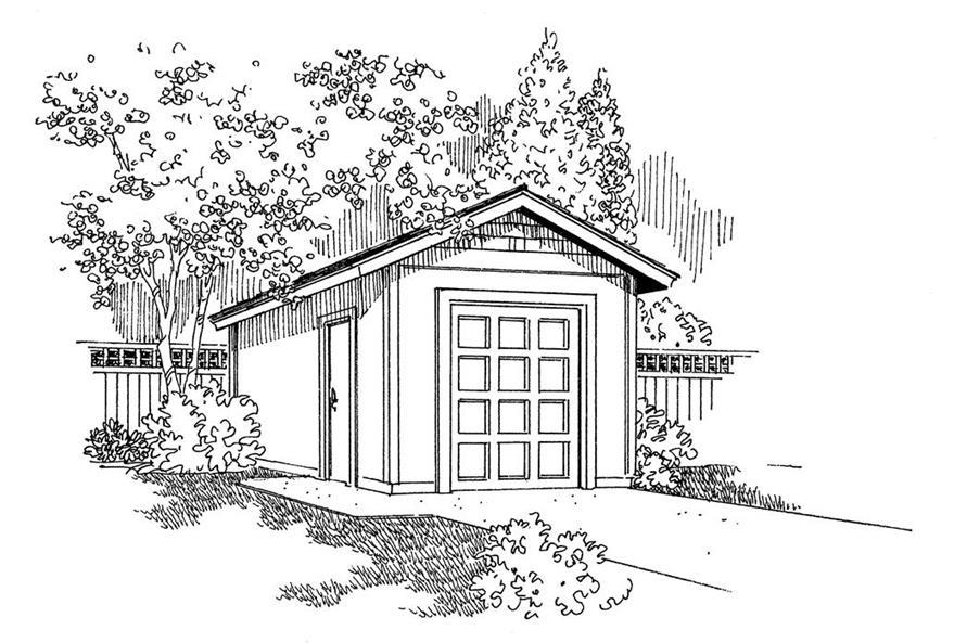 108-1072: Home Plan Rendering