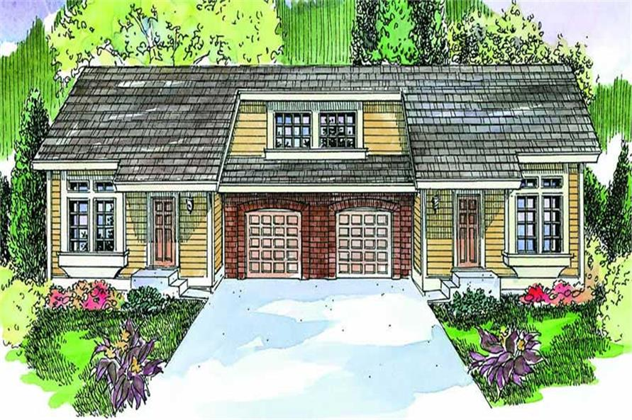 Main image for house plan # 21073