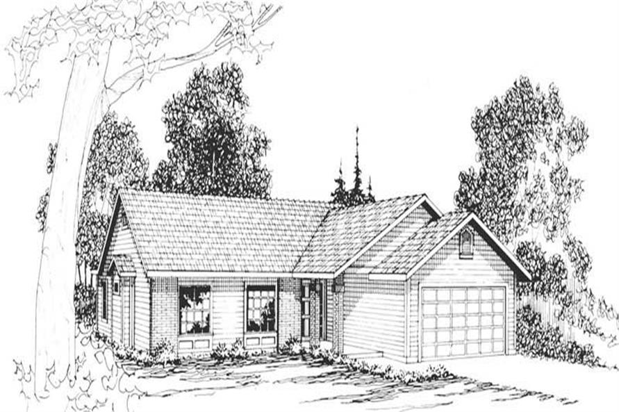 Main image for house plan # 2887