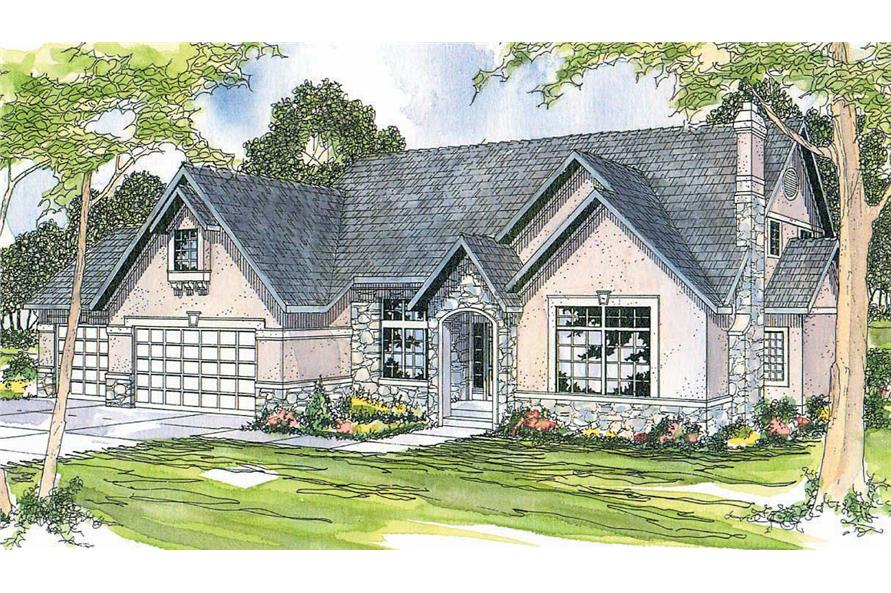 Main image for house plan # 2889