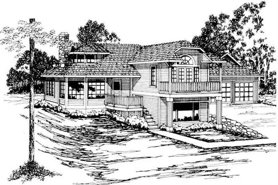 Main image for house plan # 2998