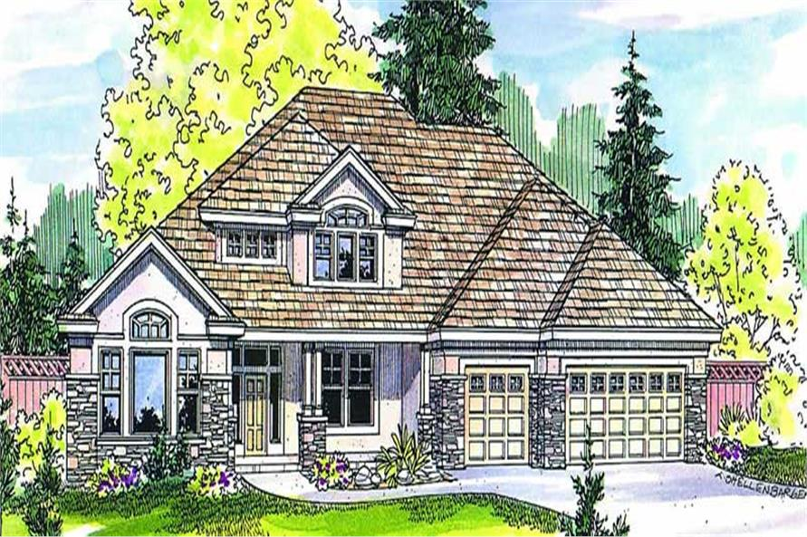 Main image for house plan # 2985