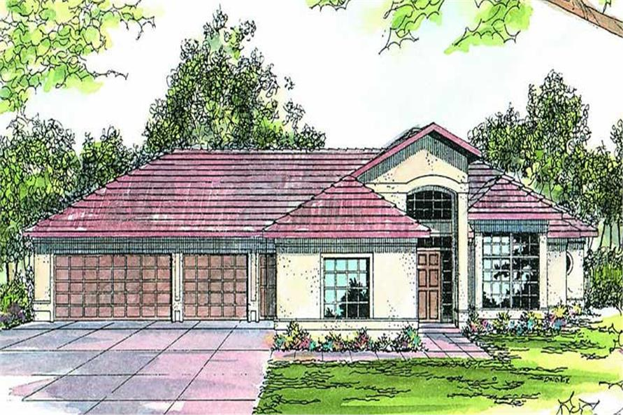 Main image for house plan # 2891