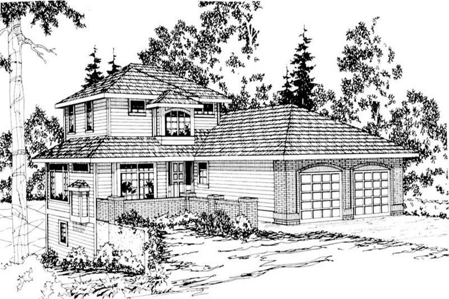 Main image for house plan # 3003