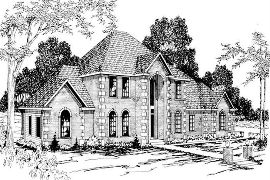 Main image for house plan # 3009