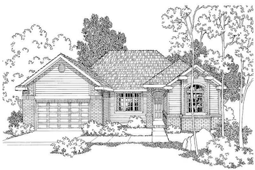 Main image for house plan # 3031