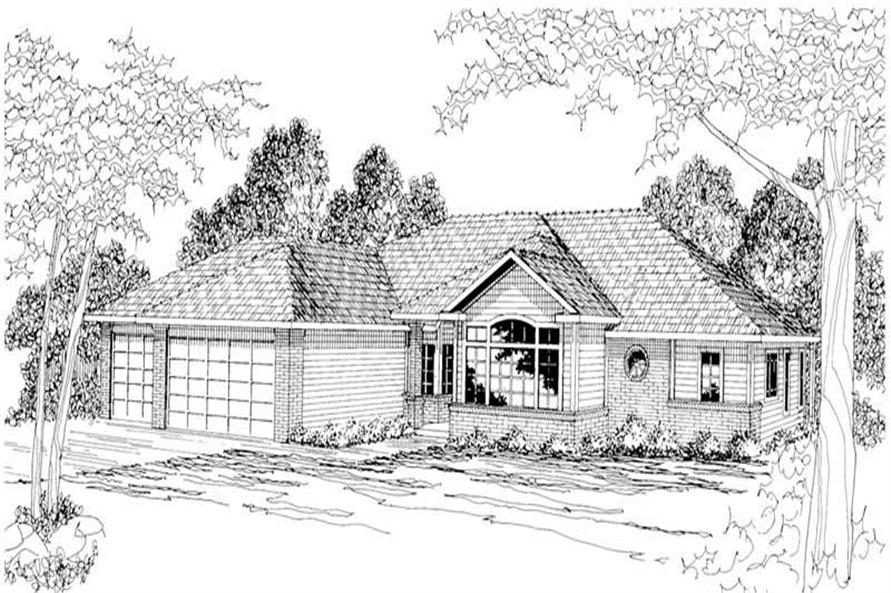 Main image for house plan # 3033