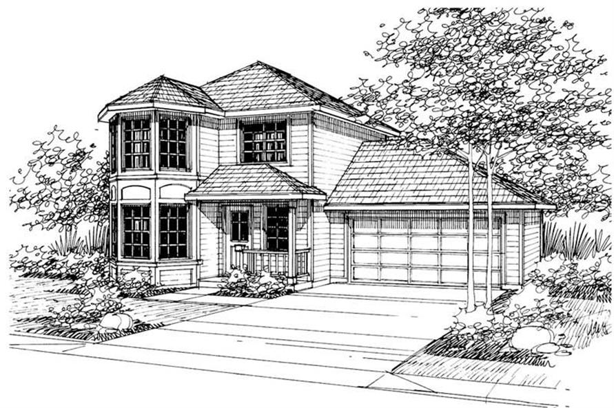 Main image for house plan # 3058