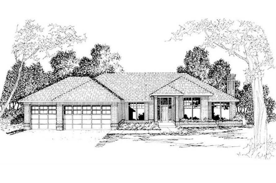 108-1185: Home Plan Rendering