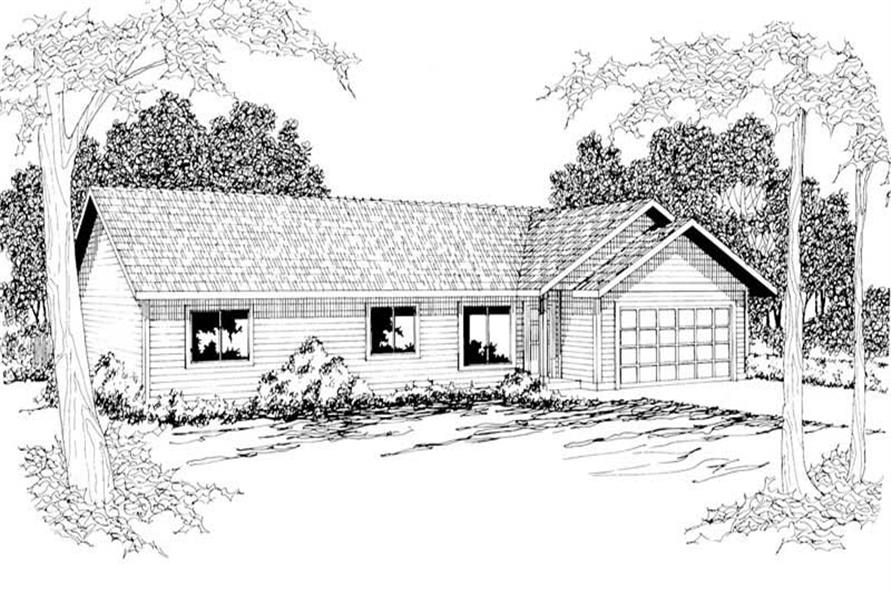Main image for house plan # 3039